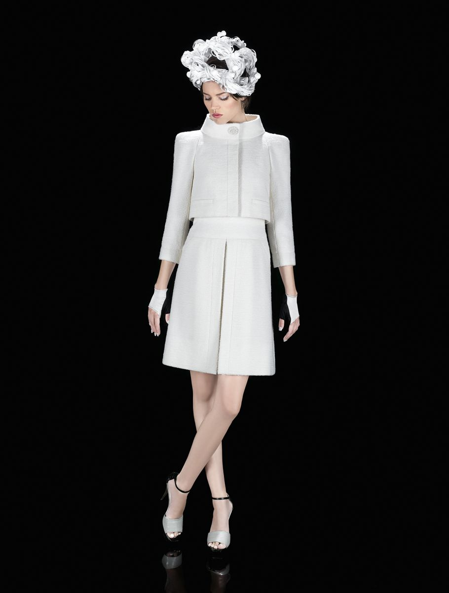 Haute Couture. Frühling/Sommer 2009. Foto © Karl Lagerfeld
